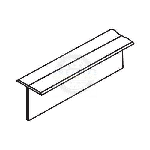 """SEVROLL összekötő profil """"T"""" 3m ezüst"""