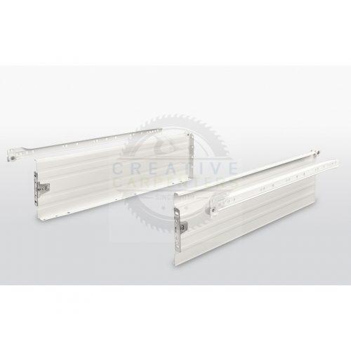 FGV fióksín oldallappal H150/350 mm fehér