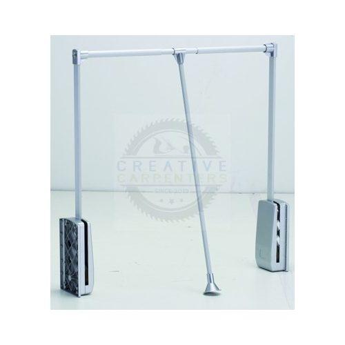Ruhalift 890-1240mm ezüst/alu